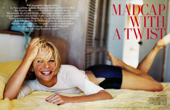 Article Preview: MADCAP WITH A TWIST, December 1999 1999 | Vanity Fair