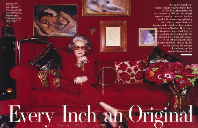 Article Preview: Every Inch an Original, December 1999 1999 | Vanity Fair