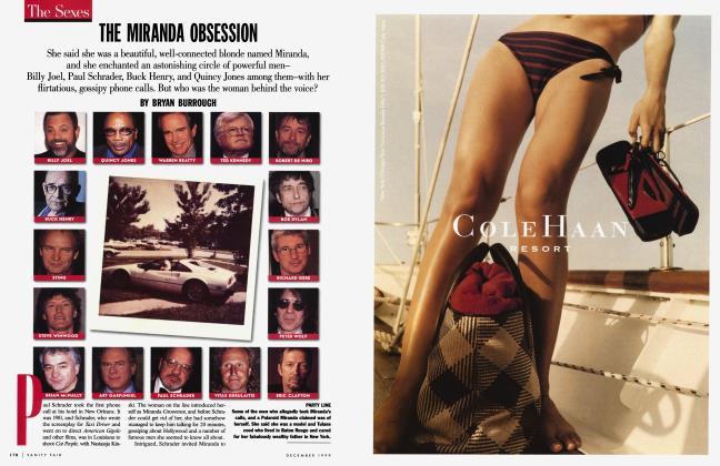 Article Preview: THE MIRANDA OBSESSION, December 1999 1999 | Vanity Fair