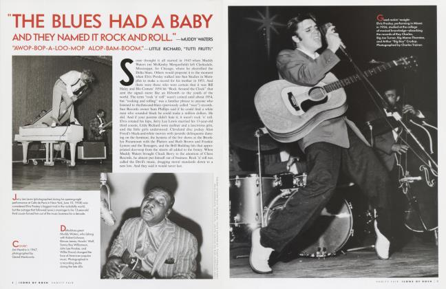 ICONS OF ROCK FIFTY YEARS OF ROCK 'N' ROLL