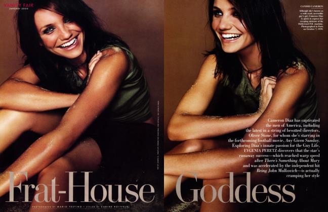 Article Preview: Frat-House Goddess, January 2000 2000 | Vanity Fair