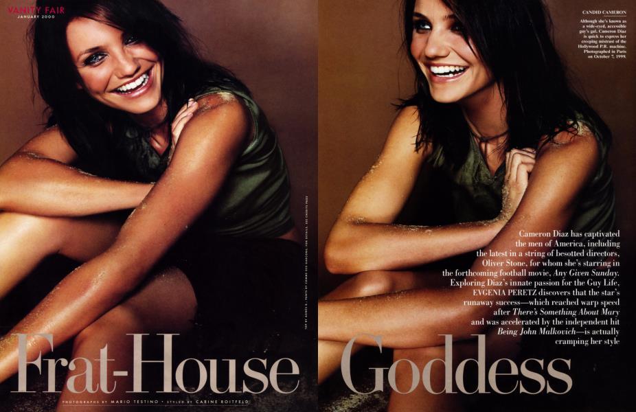 Frat-House Goddess