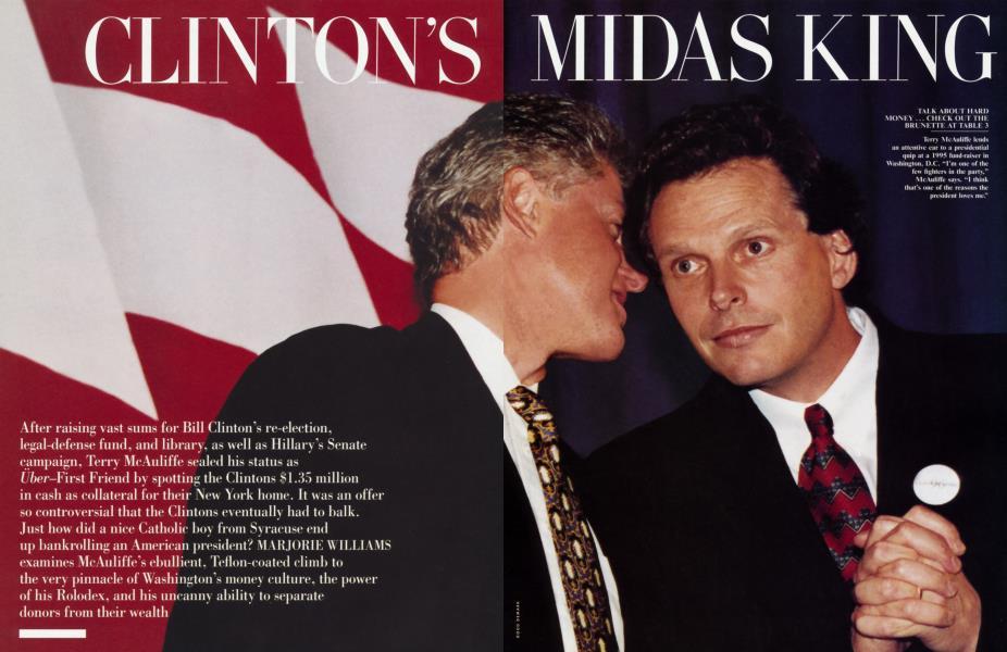 CLINTON'S MIDAS KING