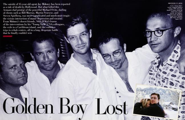 Article Preview: Golden Boy Lost, February 2000 | Vanity Fair