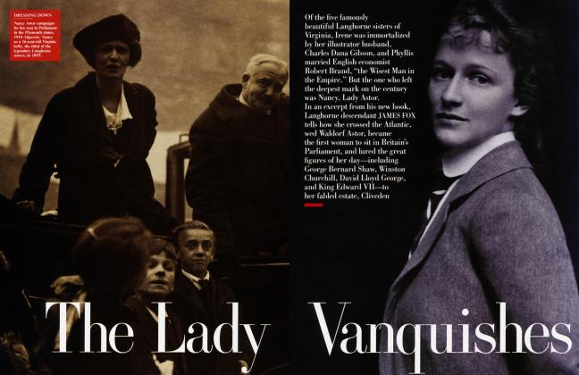 Article Preview: The Lady Vanquishes, February 2000 | Vanity Fair