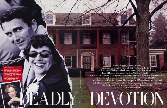 Article Preview: DEADLY DEVOTION, March 2000 | Vanity Fair