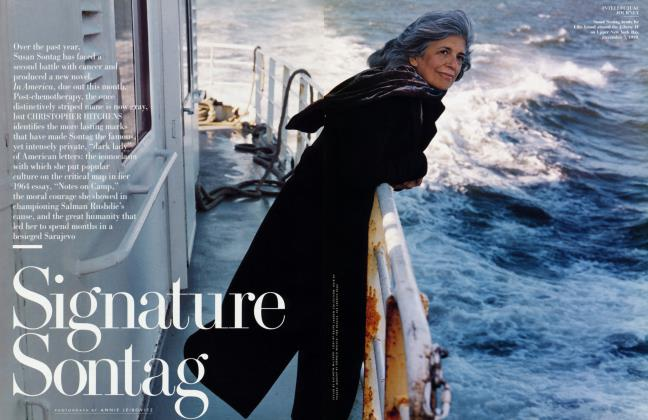 Article Preview: Signature Sontag, March 2000 2000 | Vanity Fair