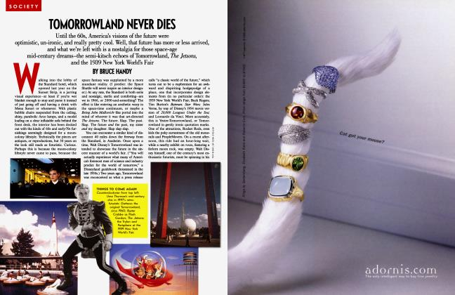 Article Preview: TOMORROWLAND NEVER DIES, March 2000 2000 | Vanity Fair
