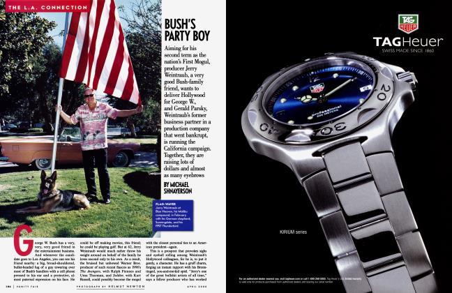 Article Preview: BUSH'S PARTY BOY, April 2000 | Vanity Fair