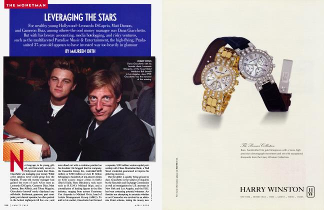 Article Preview: LEVERAGING THE STARS, April 2000 | Vanity Fair