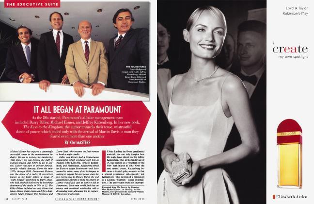 Article Preview: IT ALL BEGAN AT PARAMOUNT, April 2000 | Vanity Fair