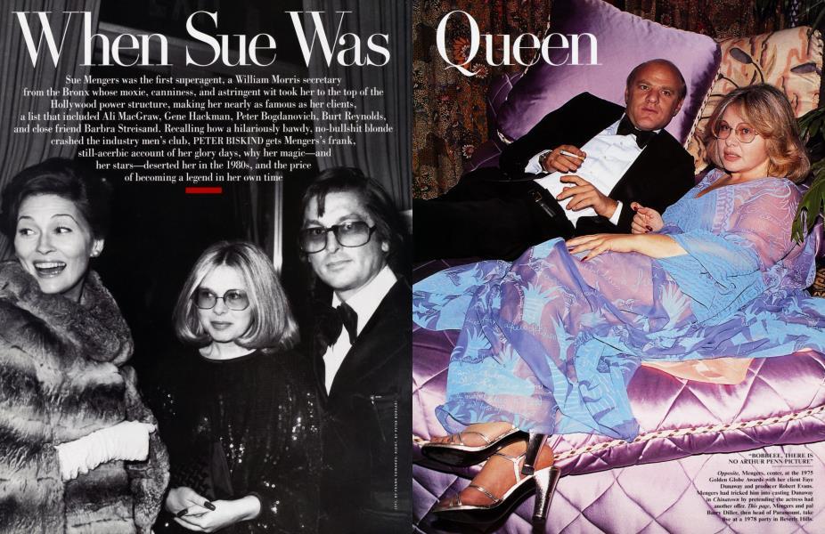 When Sue Was Queen