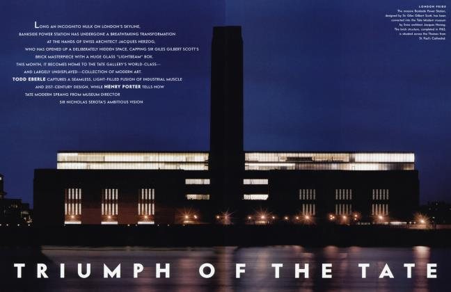 Article Preview: TRIUMPH OF THE TATE, May 2000 2000 | Vanity Fair