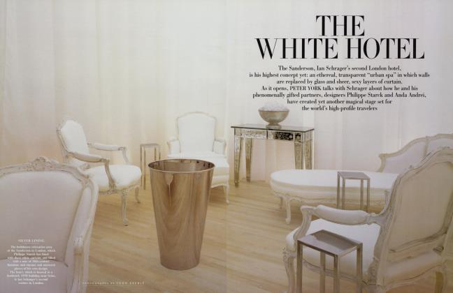 Article Preview: THE WHITE HOTEL, May 2000 2000 | Vanity Fair