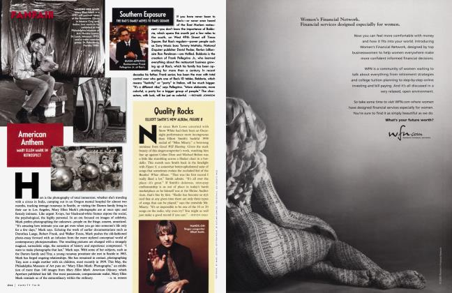 Article Preview: Quality Rocks, May 2000 2000 | Vanity Fair