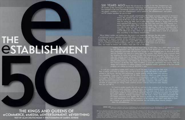 Article Preview: THE eSTABLISHMENT 50, May 2000   Vanity Fair