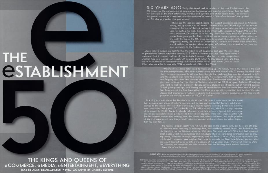 THE eSTABLISHMENT 50