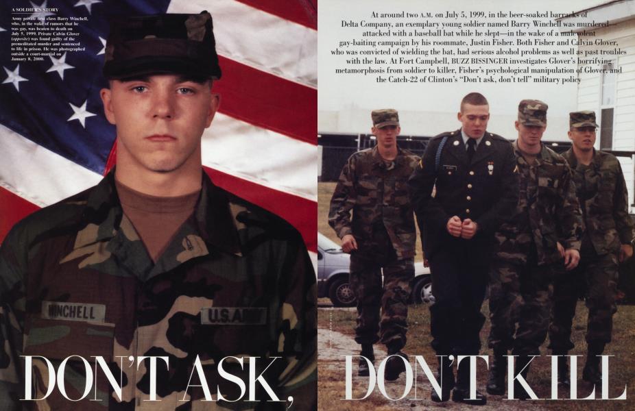 DON'T ASK, DON'T KILL