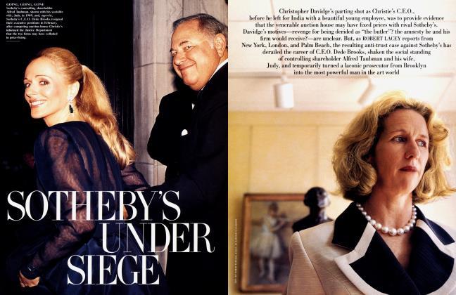 Article Preview: SOTHEBY'S UNDER SIEGE, June 2000 2000 | Vanity Fair