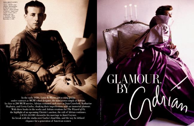 Article Preview: GLAMOUR BY ADRIAN, June 2000 2000 | Vanity Fair