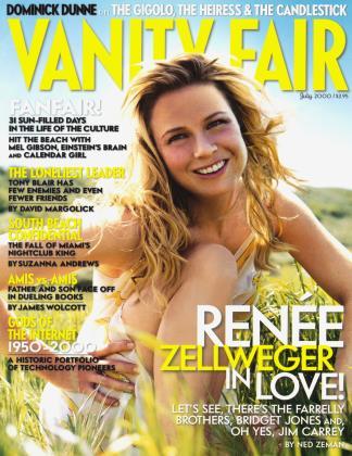 July 2000 | Vanity Fair