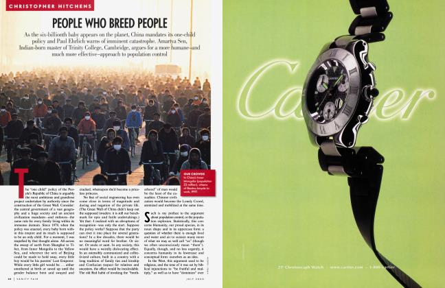Article Preview: PEOPLE WHO BREED PEOPLE, July 2000 2000 | Vanity Fair