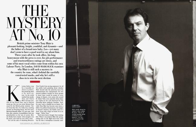 Article Preview: THE MYSTERY AT No. 10, July 2000 2000 | Vanity Fair