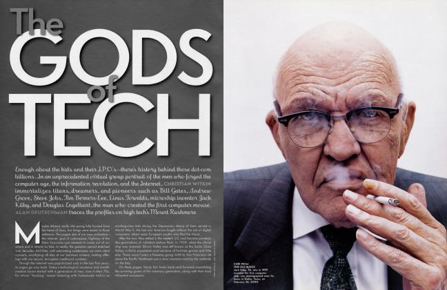 Article Preview: The GODS of TECH, July 2000 2000 | Vanity Fair