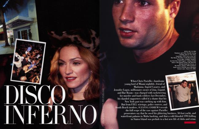 Article Preview: DISCO INFERNO, July 2000 2000 | Vanity Fair