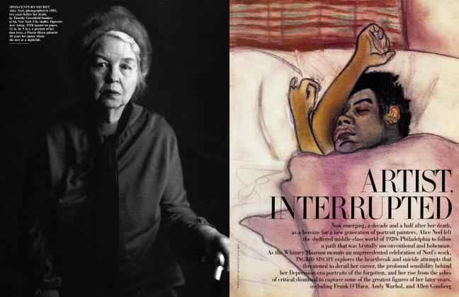 Article Preview: ARTIST, INTERRUPTED, July 2000 2000 | Vanity Fair
