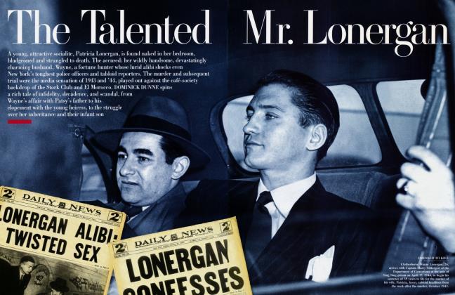 The Talented Mr. Lonergan