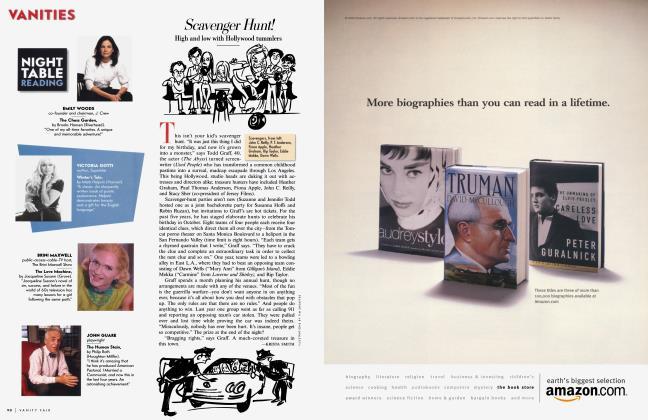 Article Preview: Scavenger Hunt!, August 2000 2000 | Vanity Fair