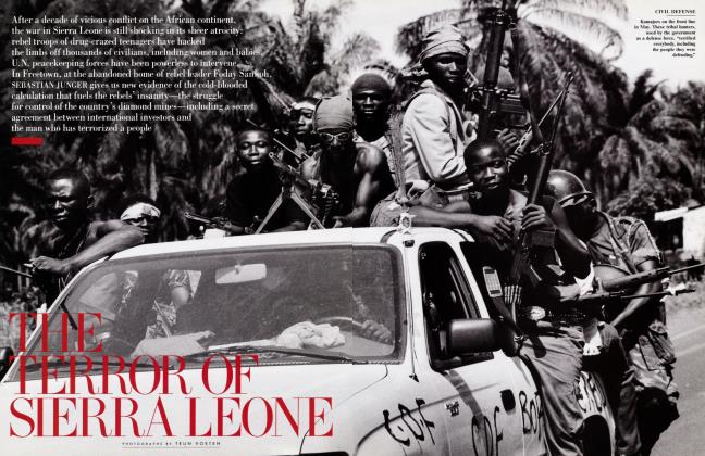 Article Preview: THE TERROR OF SIERRA LEONE, August 2000 2000 | Vanity Fair
