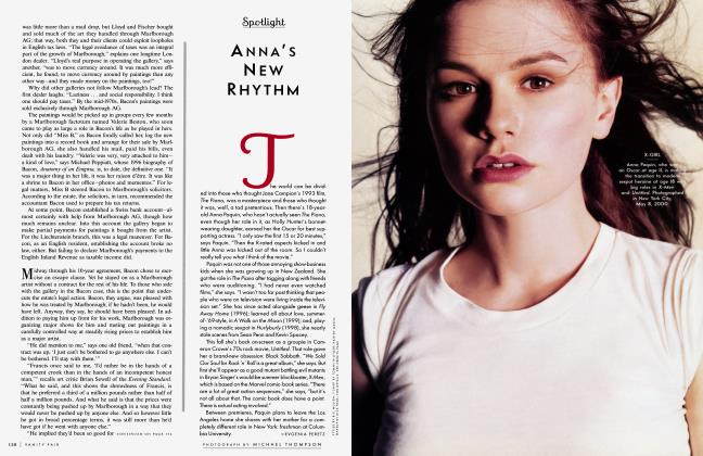 Article Preview: ANNA'S NEW RHYTHM, August 2000 2000 | Vanity Fair