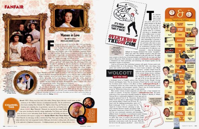 Article Preview: Women in Love, August 2000 2000 | Vanity Fair