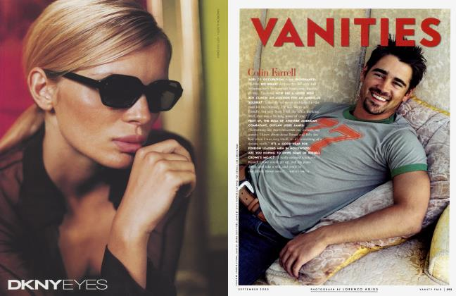 Article Preview: Colin Farrell, September 2000 2000   Vanity Fair