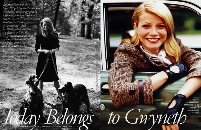 Article Preview: Today Belongs to Gwyneth, September 2000 2000 | Vanity Fair