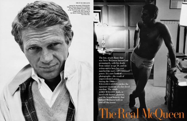 Article Preview: The Real McQueen, September 2000 2000 | Vanity Fair
