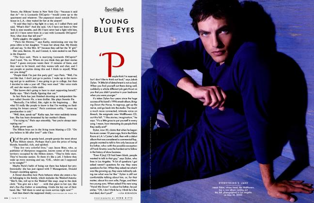 Article Preview: YOUNG BLUE EYES, September 2000 2000 | Vanity Fair