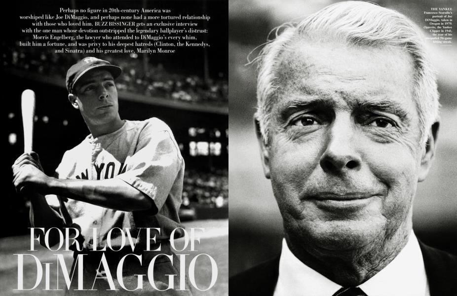 FOR LOVE OF DIMAGGIO