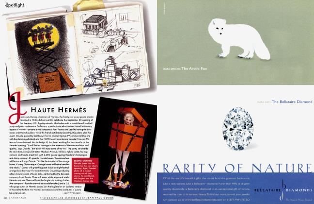 Article Preview: HAUTE HERMÈS, October 2000 2000 | Vanity Fair