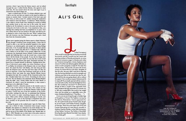Article Preview: ALI'S GIRL, October 2000 2000 | Vanity Fair