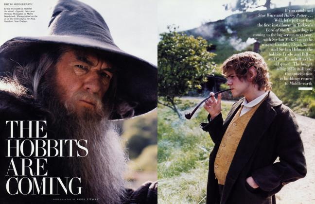 Article Preview: THE HOBBITS ARE COMING, October 2000 2000 | Vanity Fair