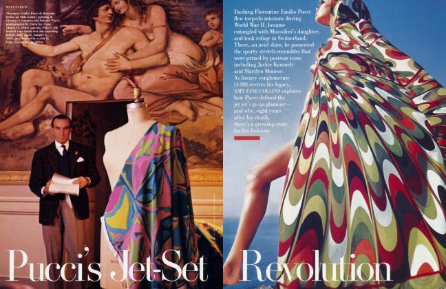 Article Preview: Pucci's Jet-Set Revolution, October 2000 | Vanity Fair