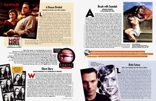 Article Preview: Brush with Scandal, October 2000 2000 | Vanity Fair