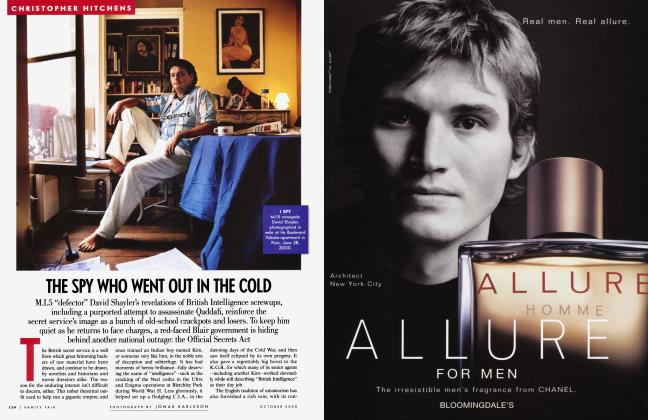 Article Preview: THE SPY WHO WENT OUT IN THE COLD, October 2000 2000 | Vanity Fair