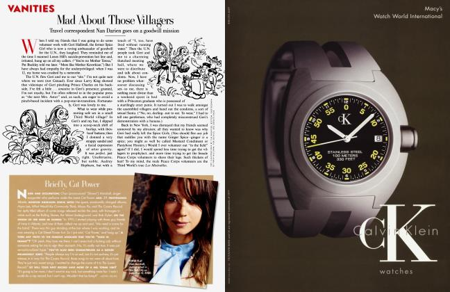 Article Preview: Mad About Those Villagers, November 2000 2000 | Vanity Fair