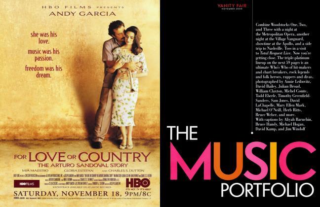 Article Preview: THE MUSIC PORTFOLIO, November 2000 2000 | Vanity Fair