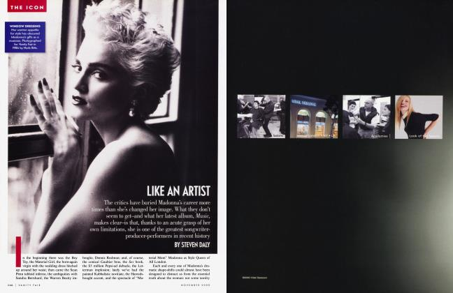 Article Preview: LIKE AN ARTIST, November 2000 2000 | Vanity Fair