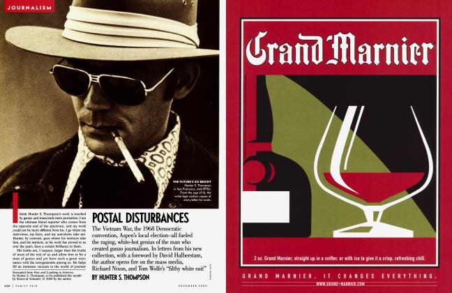 Article Preview: POSTAL DISTURBANCES, December 2000 | Vanity Fair